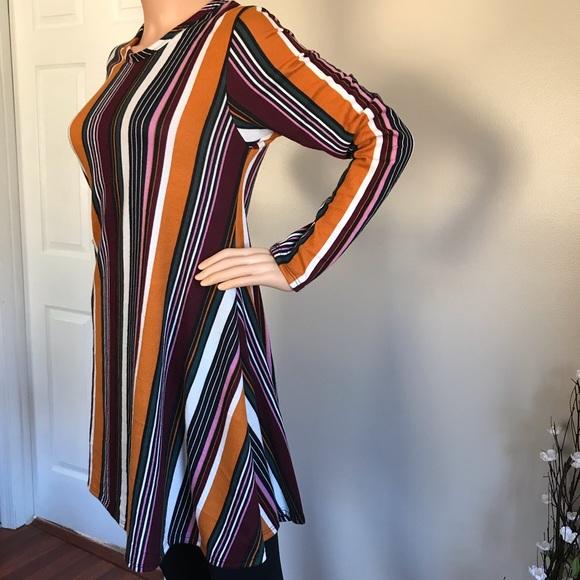 Discreet Dresses & Skirts - Dress is comfortable, nice and colorful, like new!